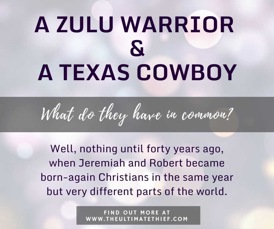 A ZULU WARRIOR AND A TEXAS COWBOY